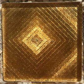 ST062 мозаика из серии Золотая фольга 4,8х4,8 см