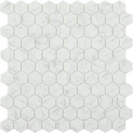 Мозаика Hexagon Marbles 4300 серого цвета