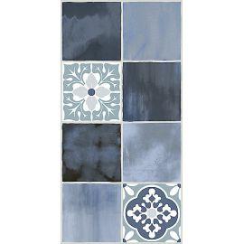Glam Indigo Ornament 2 31,5x63 см плитка для стен