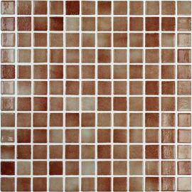 Colors 506 DOT коричневая мозаика Vidrepur на сцепке