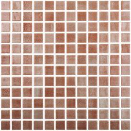 Colors 506 P коричневая мозаика Niebla Marron Vidrepur на бумаге