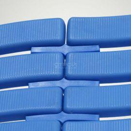 Как соединяется коврик с помощью клипс Soft Step Navy blue