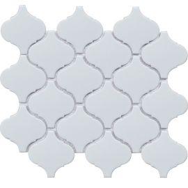 Latern White Matt 24,6х28 см керамическая мозаика Starmosaic серия White-Black