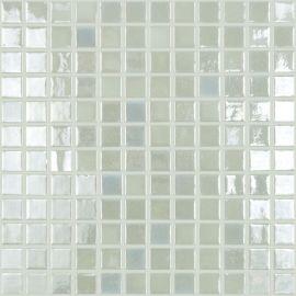 Lux 409 белая высокоглянцевая мозаика Vidrepur