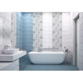 Коллекция плитки Nuvola голубого цвета в интерьере