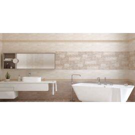 Интерьер ванной комнаты с плиткой Azori Pandora