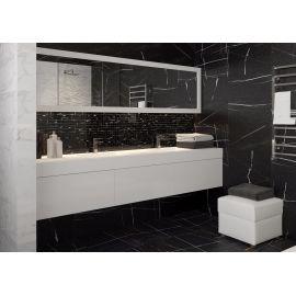 Керамогранит Marble Trend Nero Dorato Shuga-эффект 60х60 см в интерьере