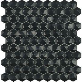 Мозаика шестиугольная Matt 903D Black Vidrepur