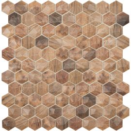 Мозаика Woods 4700D под дерево Hexagon Royal Light Vidrepur