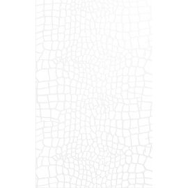 Кайман белый 25х40 см настенная плитка глянцевый блеск