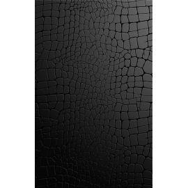 Кайман черный 25х40 см настенная плитка глянцевый блеск