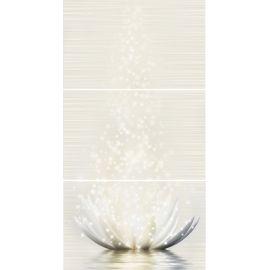 Лотос тип-1/2/3 25х120 см (комплект из 3 плиток) панно матовый блеск
