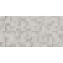 Плитка Абба микс серый 30х60 см с рельефной поверхностью