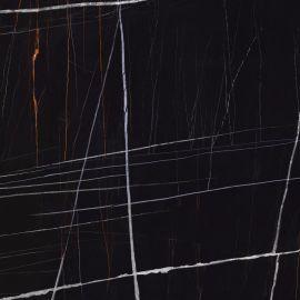 Керамогранит Marble Trend Nero Dorato Shuga-эффект 60х60 см