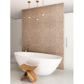 Edna Wood Cerezo 4201/В мозаика в интерьере ванной комнаты