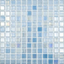 Shell 551 голубая перламутровая мозаика Vidrepur