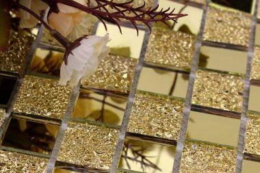 Как клеить зеркальную плитку