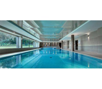 Мозаика Niebla 2508-A 2,5х2,5 см голубого цвета завода Ezarri для бассейна