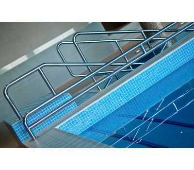 Мозаика Niebla 2508-A Anti   2,5х2,5 см голубого цвета завода Ezarri для бассейна