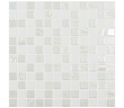 Рельефная мозаика Astra White 2,5х2,5 см глянцевая от завода Vidrepur