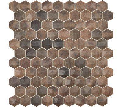 Мозаика Woods 4701D под дерево Hexagon Royal Dark/D Vidrepur