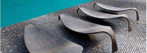 Мозаика Silver Bits Topping (Испания, Ezarri) для любых помещения и бассейна.