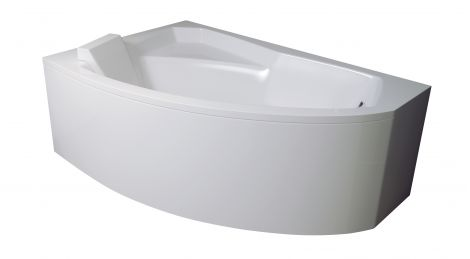 Акриловая ванна Besco Rima вид сбоку.