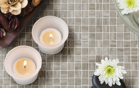 Мозаика Zen Creamstone для любых интерьеров.