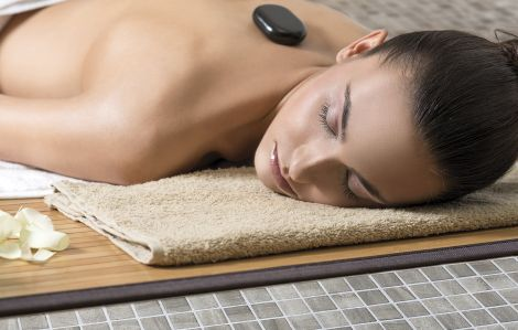Мозаика Zen Sarsen в салоне массаже.