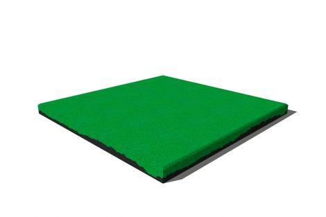 Плитка Premium из резиновой крошки 50х50х4 см салатовая