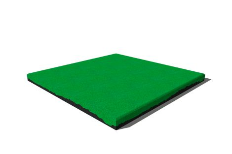Плитка из резиновой крошки Premium 50х50х3 см салатовая