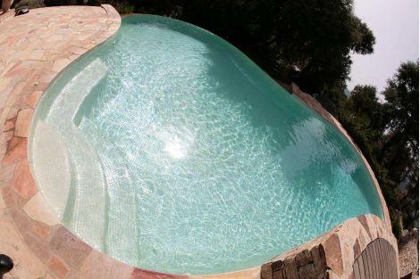 Мозаика Iris Marfil для бассейна