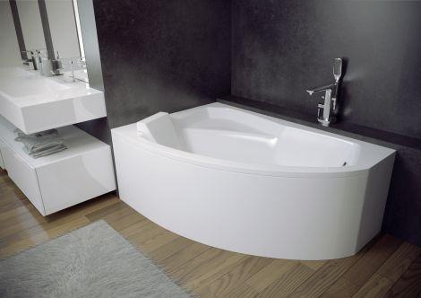 Акриловая ванна Besco Rima (130, 140, 150, 160, 170 см) левой и правой ориентации.