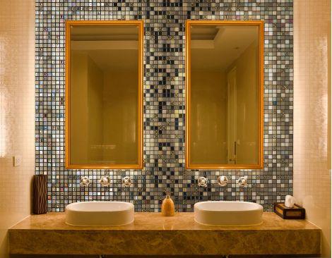 Мозаика Almonds Topping (Испания, Ezarri) оживит любой интерьер кухни или комнаты.
