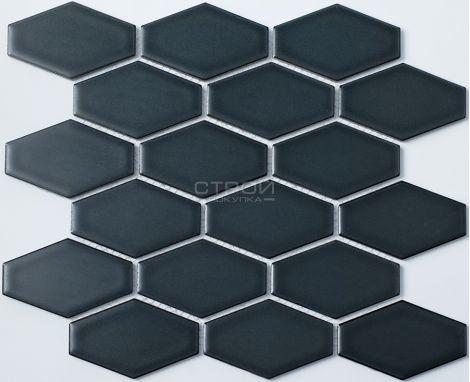 Темно-серая керамическая мозаика R-313 NsMosaic из серии Рустик