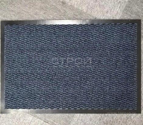 Темно-серые ворсовые коврики Профи влаговпитывающие с резиновым ворсом