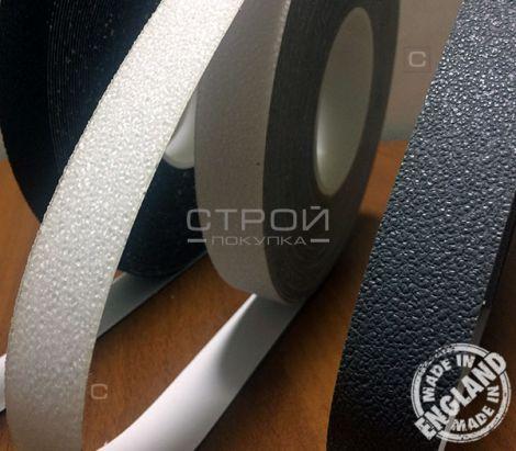 Прозрачная и черная ленты на виниловой основе Coarse Resilient 1.3, шириной 2,5 см