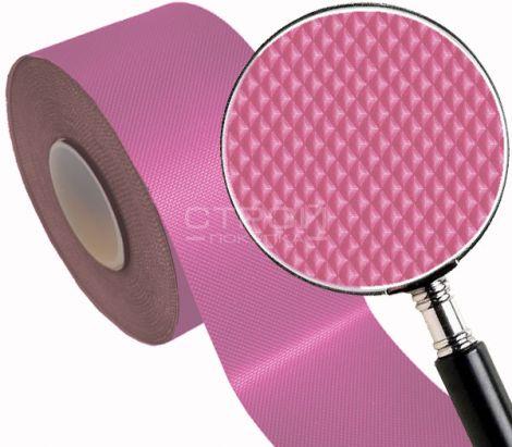 Розовая тактильная самоклеющаяся лента