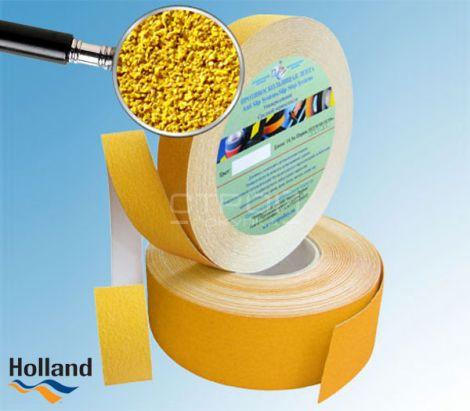 Желтая противоскользящая лента 50 мм, 25 мм