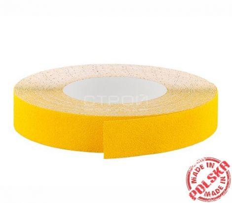 Желтая абразивная лента в рулоне