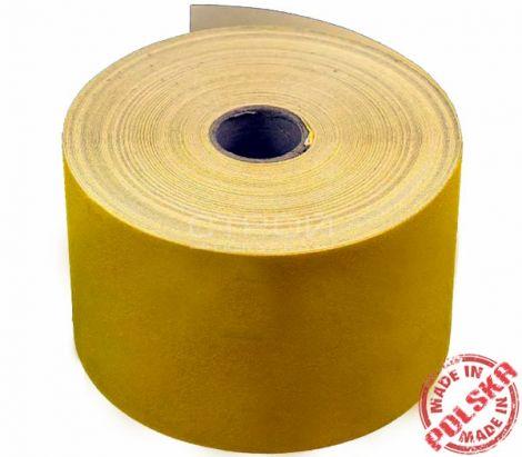 Желтая абразивная лента шириной 20 сантиметров