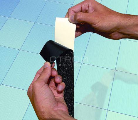 Виниловая лента для автолюбителей черного цвета NS4400 Series Anti-Slip Vinyl Safety Tape – Coarse Texture