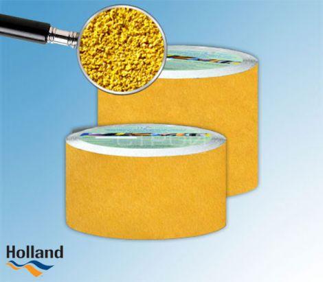 Желтая противоскользящая лента 100 мм, 150 мм