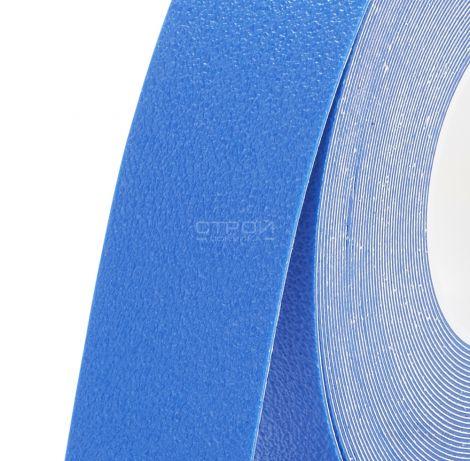 Синяя Лента противоскользящая для влажных помещений Coarse Resilient 1.2