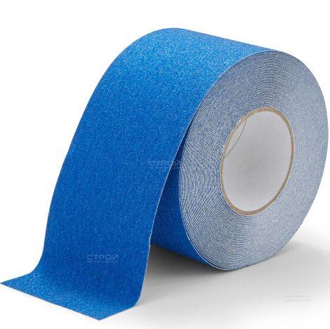 Синяя противоскользящая лента Heskins шириной 10 см