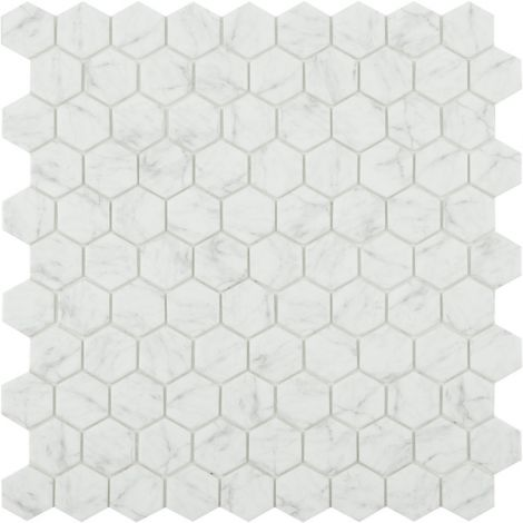Мозаика Hexagon Marbles 4300 Antid серого цвета