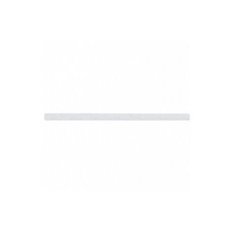 Белая виниловая полоса против скольжений, 1м