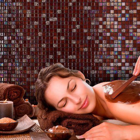 Мозаика Choco Bits Topping (Испания, Ezarri) шоколадного цвета.