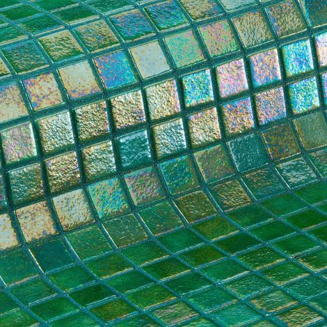 Мозаика Iris Green Pearl - зелёный перламутр
