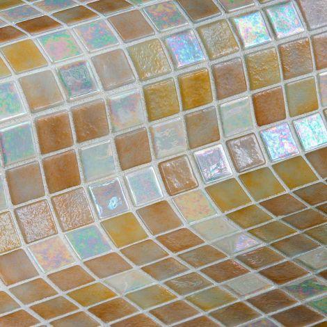 Мозаика Sahara Mix Iris — бежевый с белым